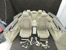 Orig. Audi A6 4F Leather Trim Alcantara Memory Beige Sportsitze Heated Seats