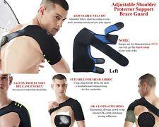 Adjustable Magnetic Shoulder Support Strap Compression Brace Bandage Pain Left