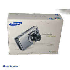 💕 Samsung SL202 10.2MP Digital Camera with 3x Optical Zoom 2.7 inch LCD BLUE I1