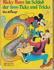 Micky Maus im Schloß der 1000 Ticks und Tricks (Walt Disney) #d116
