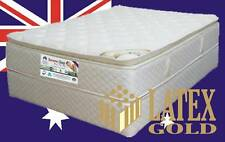 Queen Mattress Pocket Spring with LATEX GOLD Pillow Top