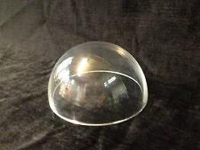 Cúpula De Acrílico Transparente Perspex 150mm de diámetro sin brida