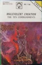 Malevolent Creation – The Ten Commandments   (1991) RARE POLISH AUDIO TAPE