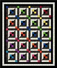 Lattice Windows Quilt Pattern Baby Crib Twin Queen Easy Scrappy NEW  #425