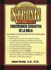 Nueva Concordancia Strong Exhaustiva Spanish Strongs Concordance - NEW!
