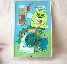 90s DINO DINOSAUR +MANUAL +CARD VIRTUAL CYBER PET POCKET KEYCHAIN GAME *READ PLZ
