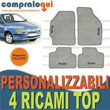 4 block 4 decori FIAT PUNTO GT 1993-1999 TAPPETI per AUTO SU MISURA