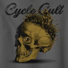 Vintage Look Cycle Cult Mind Blown Motorcycle T-Shirt  Racer Rocker tee