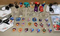 HUGE! Disney Infinity Wii Game + 8 Figures 3 Portals 11 Crystals 19 Power Discs