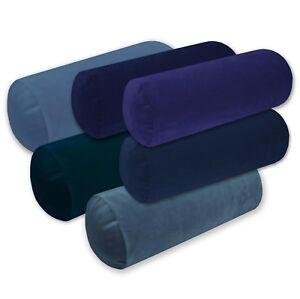 Mf-Matt Soft Smooth Microfiber Velvet Bolster CASE Yoga/Neck Roll Cushion COVER