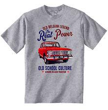 Vintage Ruso Coche Moskvich Elite 1500-Nuevo Algodón Camiseta