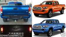 Reflective Black Tailgate Letter Inserts For 2016-2017 Toyota Tacoma New USA