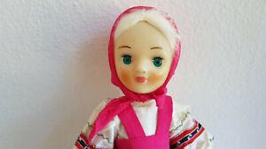 russische Puppe Trachtenpuppe Russland Sowjetunion UDSSR USSR