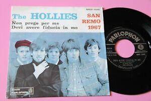 """THE HOLLIES 7"""" NON PREGO PER ME EX CANTANO IN ITALIANO A SANREMO 1967 !!!!!"""