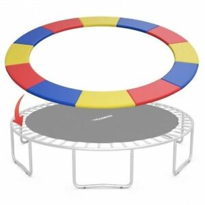 Modern 14FT Multicolor Safety Round Spring Pad Replacement Cover -