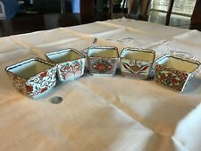 Japanese Porcelain Square Cups