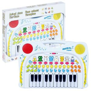 Children's Animal Noise Baby Piano Keyboard Musical Activity Toy Pretend Play