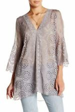 Evening, Occasion 3/4 Sleeve Dry-clean Only 100% Silk Tops & Blouses for Women