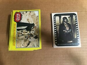 1977 Star Wars Series 3 Complete Card & Sticker  Yellow  (66/11) Great!!