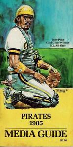 1985 Pittsburgh Pirates Media Guide
