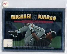 Michael Jordan 1994 Upper Deck Baseball Season Highlights Set 5-card