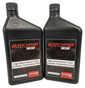 For Harley Davidson 07-16 FLS Heritage Softail 2 Quart V-Twin Syn Trans Fluid