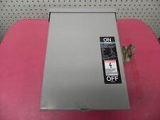 Siemens ITE NR422 240 VAC 60 Amp General Duty Enclosed Switch Vacu-Break w/fuses
