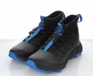 E16 Men's Sz 7.5 M Merrell MTL Astrum Hiking Boot In Black/Blue