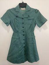 40's/50's Vintage Girl Scout Teenage Woman Uniform Dress Cosplay