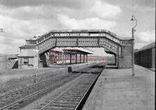 PHOTO  SR OKEHAMPTON RAILWAY STATION VIEW 1982 LONDON AND SOUTH WESTERN RAILWAY