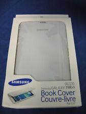 "NEW BOOK COVER / CASE FOR SAMSUNG GALAXY TAB/TABLET 3 8.0"" WHITE EF-BT310BWEGCA"
