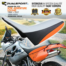KTM LC4 640 Adventure Sitzbezug, Quality Seat Cover 1998-2007 from DualSport-FX