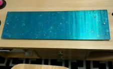 Metal wall art large teal abstract modern unique home decor indoor outdoor art