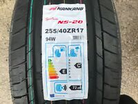 1 x NEW 255 40 17 NANKANG SPORTNEXT NS-20 TYRE  255/40 ZR17 94W