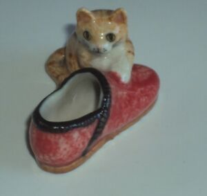 feve CHAT DANS CHAUSSURE  1,00 euro