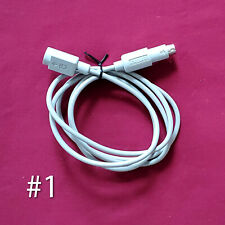 Authentic Sgi Silicon Graphics Ps/2 Mouse / Keyboard 3ft. Grey Extension Cables