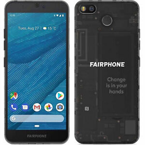 BINB Fairphone 3 Dual SIm 64GB ROM  Black Factory Unlocked 4G/LTE GSM