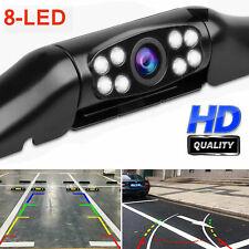 HD Degree 8LED Car Parking Night Sight Rear View Reverse Backup Camera Kit Best