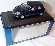 Ford Fiesta MK5 5 Door in Dark Blue 1-43 scale Minichamps new in Case boxed
