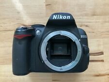 Nikon D3000 10.2MP Digital Camera Body DSLR FOR PARTS/NOT WORKING w/ Battery