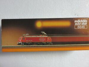 Marklin z scale SWISS electric locomotive #8846 original box