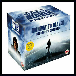 HIGHWAY TO HEAVEN COMPLETE COLLECTION SERIES 1-5 DVD BOXSET 30 DISC NEW & SEALED