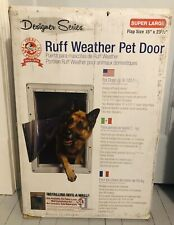 Ruff-Weather Pet Dog Door - Super Large