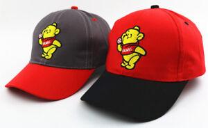 Bear Boy Girl Adjustable Baseball Cap Kids Snapback Children School hip hop Hat