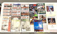 Florida Trail Riders, Racer X, MX Rage, VMX, Inside Motocross Magazine Lot of 25