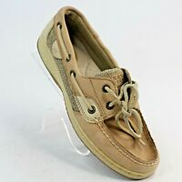 Sperry Top Sider Womens Sz 6.5 M Bluefish 2 Eye Style 9276619 Leather Boat Shoes