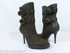 Coach Brown Leather Boots  Size 9.5