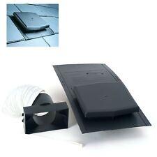 10K Slate Roof Tile Vent Ventilator & Adapter Kit / Extractor fans & Soil Pipe