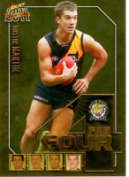 2011 Select AFL Champions Fab Four Gold Card FFG52 Dustin Martin (Richmond)