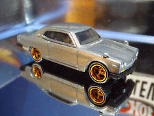 Matchbox Custom Silver '71 Nissan Skyline 2000 GTX with Hot Wheels Real Riders.